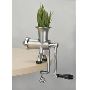 Miracle MJ445 Stainless Steel Manual Wheatgrass Juicer