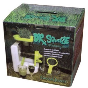 green queen wheatgrass juicer