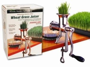 hurrican stainless steel wheatgrass juicer