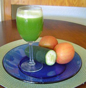 apple and cucumber juice recipe